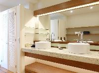 clean lavatory in Saint Barth Villa La Colline luxury holiday home, vacation rental