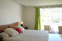 fresh bed sheets in Saint Barth Villa La Colline luxury holiday home, vacation rental