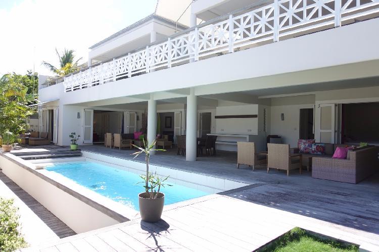 cool pool of Saint Barth Villa La Colline luxury holiday home, vacation rental