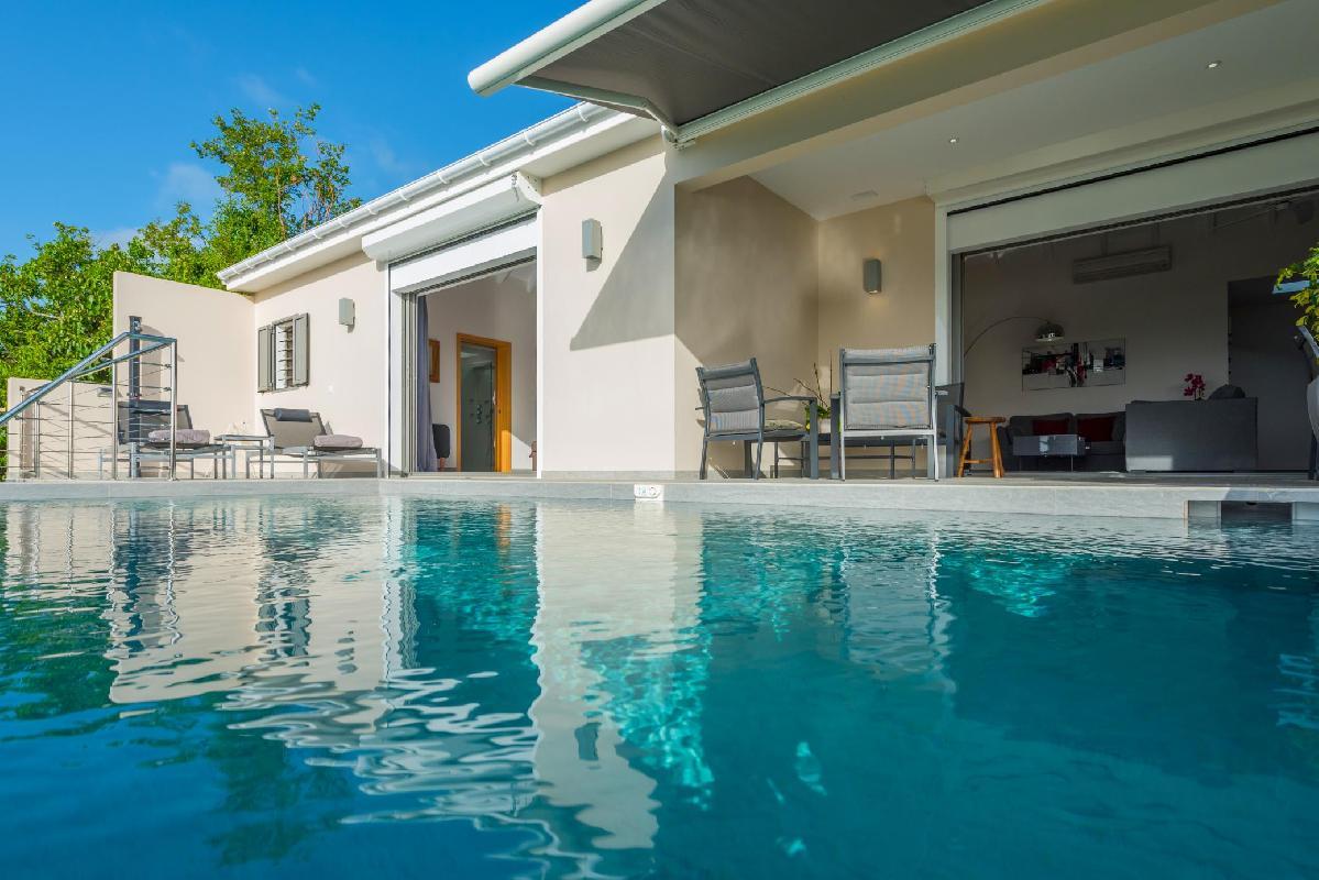 fantastic Saint Barth Villa La Suite Acajous luxury home, vacation rental
