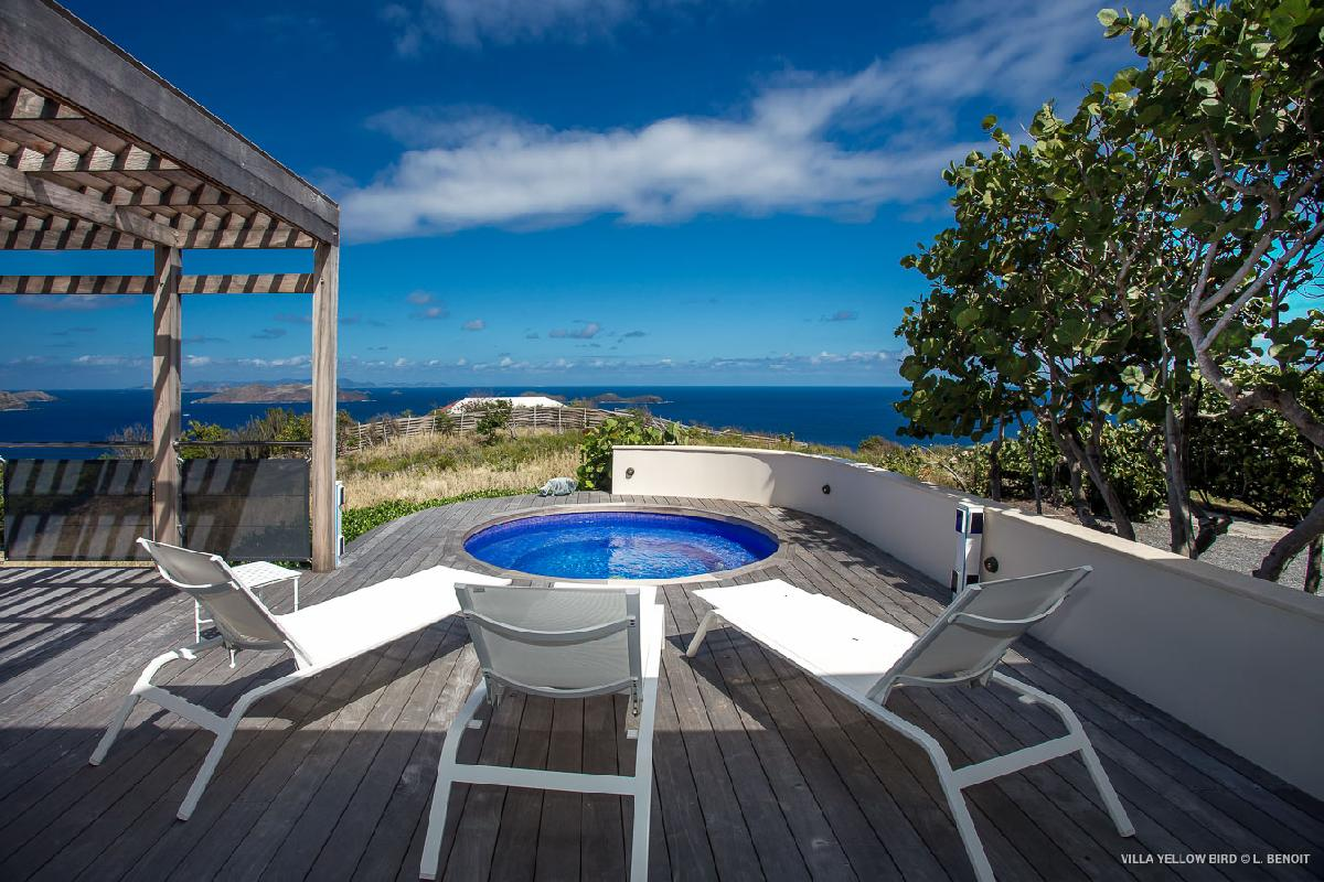 beautiful Saint Barth Villa Yellow Bird luxury holiday home, vacation rental