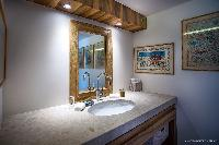 clean lavatory in Saint Barth Villa Yellow Bird luxury holiday home, vacation rental