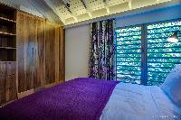 clean bedroom linens in Saint Barth Villa Yellow Bird luxury holiday home, vacation rental