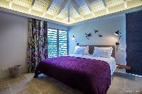 clean bed sheets in Saint Barth Villa Yellow Bird luxury holiday home, vacation rental