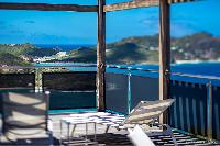 amazing seafront Saint Barth Villa Yellow Bird luxury holiday home, vacation rental