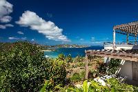 beautiful sea view from Saint Barth Villa Yellow Bird luxury holiday home, vacation rental