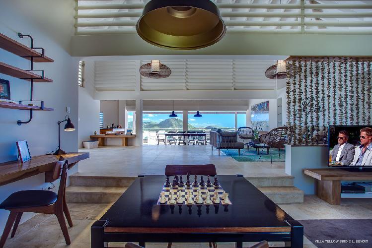 awesome Saint Barth Villa Yellow Bird luxury holiday home, vacation rental