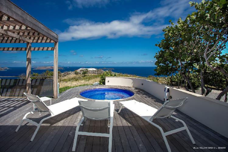 beautiful Saint Barth Villa Yellow Bird luxury holiday home, vacation rental