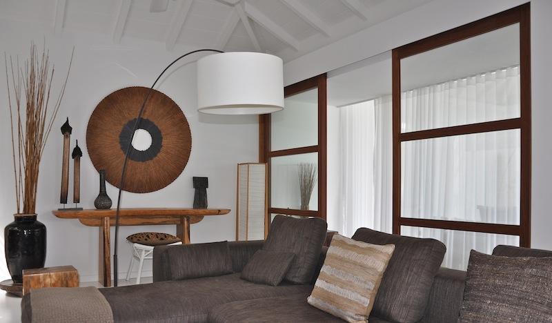 fully furnished Saint Barth Villa Casamia luxury holiday home, vacation rental