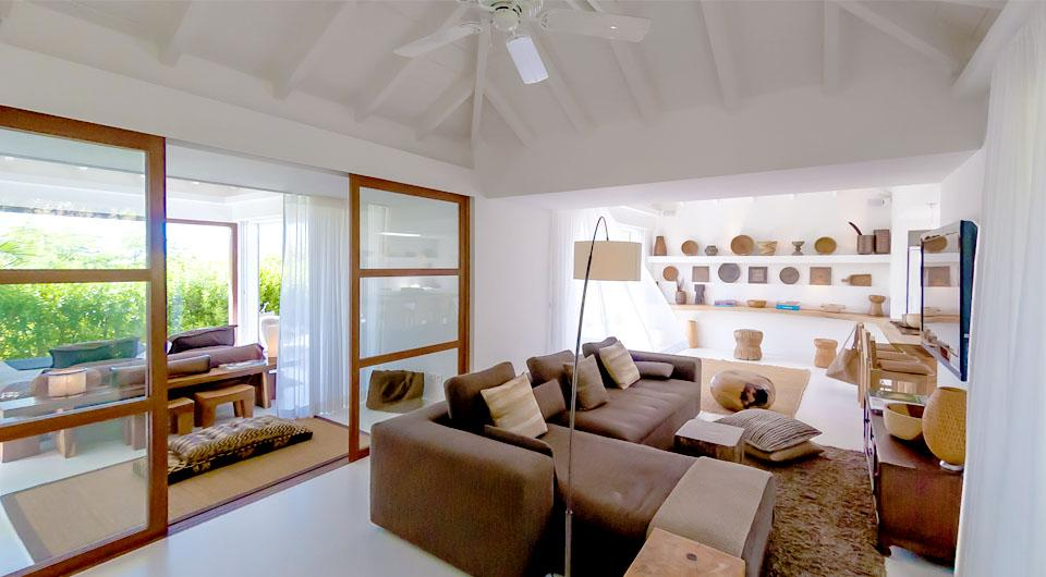 spacious Saint Barth Villa Casamia luxury holiday home, vacation rental