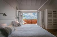 fresh bedroom linens in Saint Barth Villa Kaloo luxury holiday home, vacation rental