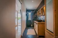 neat lavatory in Saint Barth Villa Kaloo luxury holiday home, vacation rental