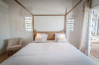 clean bed sheets in Saint Barth Villa Kaloo luxury holiday home, vacation rental