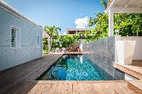 cool swimming pool of Saint Barth Villa Kaloo luxury holiday home, vacation rental