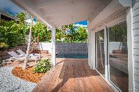 cool lanai of Saint Barth Villa Kaloo luxury holiday home, vacation rental