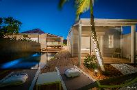 cool deck of Saint Barth Villa Kaloo luxury holiday home, vacation rental