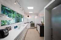 modern kitchen appliances in Saint Barth Villa La Magnifica luxury holiday home, vacation rental