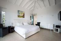 fresh bed sheets in Saint Barth Villa La Magnifica luxury holiday home, vacation rental