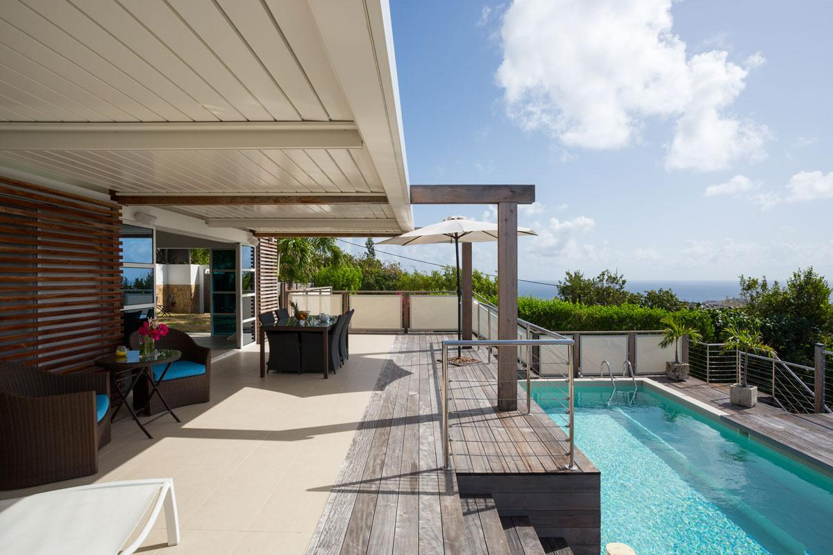 awesome Saint Barth Villa La Magnifica luxury holiday home, vacation rental