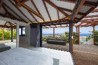 incredible ceiling of Saint Barth Villa Rose Dog luxury holiday home, vacation rental