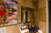 clean lavatory in Saint Barth Villa Castle Rock luxury holiday home, vacation rental