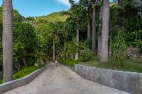 lush surroundings of Saint Barth Villa Castle Rock luxury holiday home, vacation rental