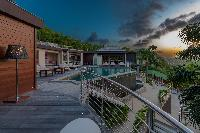 enchanting Saint Barth Villa Castle Rock luxury holiday home, vacation rental