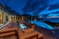 magical Saint Barth Villa Castle Rock luxury holiday home, vacation rental