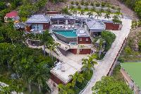 magnificent Saint Barth Villa Castle Rock luxury holiday home, vacation rental