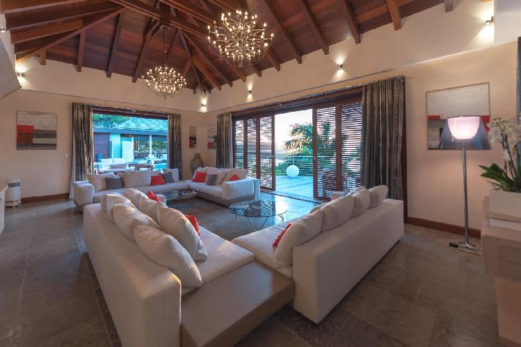 fabulous Saint Barth Villa Castle Rock luxury holiday home, vacation rental
