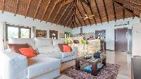 pleasant sitting area in Saint Barth Luxury Villa Estrela holiday home, vacation rental