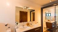 clean bathroom in Saint Barth Luxury Villa Estrela holiday home, vacation rental