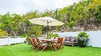 lovely garden of Saint Barth Luxury Villa Estrela holiday home, vacation rental