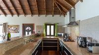 impressive ceiling of Saint Barth Luxury Villa Estrela holiday home, vacation rental