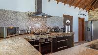 modern kitchen appliances in Saint Barth Luxury Villa Estrela holiday home, vacation rental