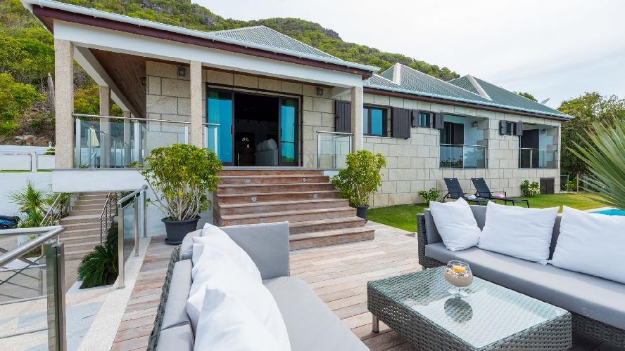 beautiful Saint Barth Luxury Villa Estrela holiday home, vacation rental