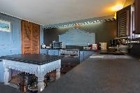 cool kitchen of Saint Barth Villa Lama luxury holiday home, vacation rental
