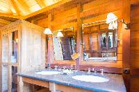 clean lavatory in Saint Barth Villa Lama luxury holiday home, vacation rental