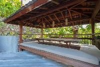 cool cabana of Saint Barth Villa Lama luxury holiday home, vacation rental
