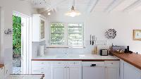 modern kitchen appliances in Saint Barth Villa Les Cazes luxury holiday home, vacation rental