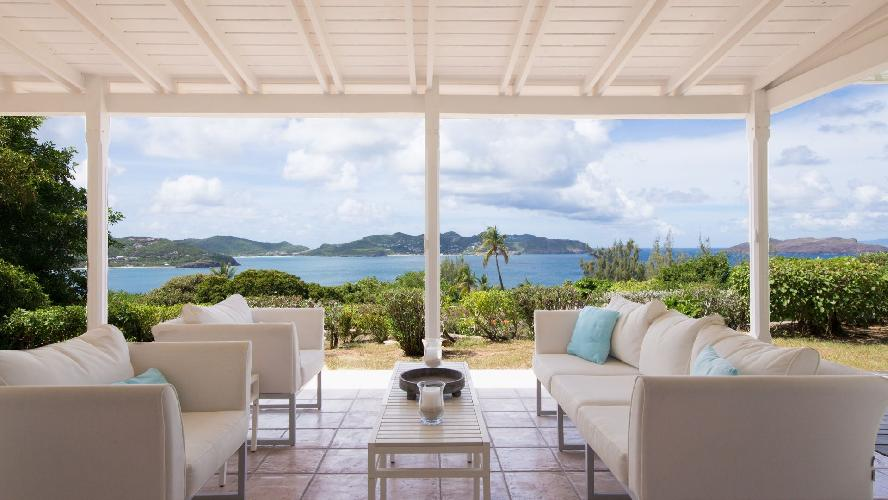 beautiful Saint Barth Villa Les Cazes luxury holiday home, vacation rental