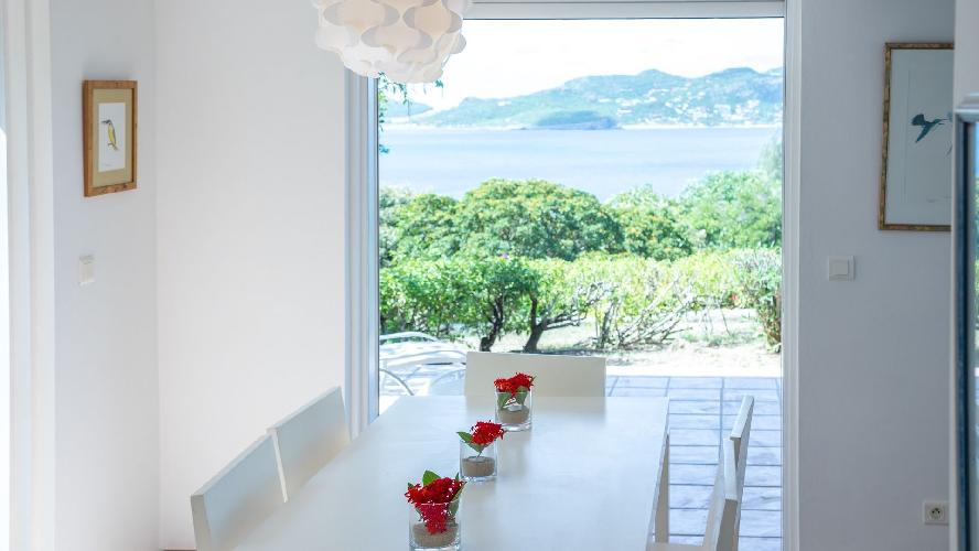amazing seafront Saint Barth Villa Les Cazes luxury holiday home, vacation rental