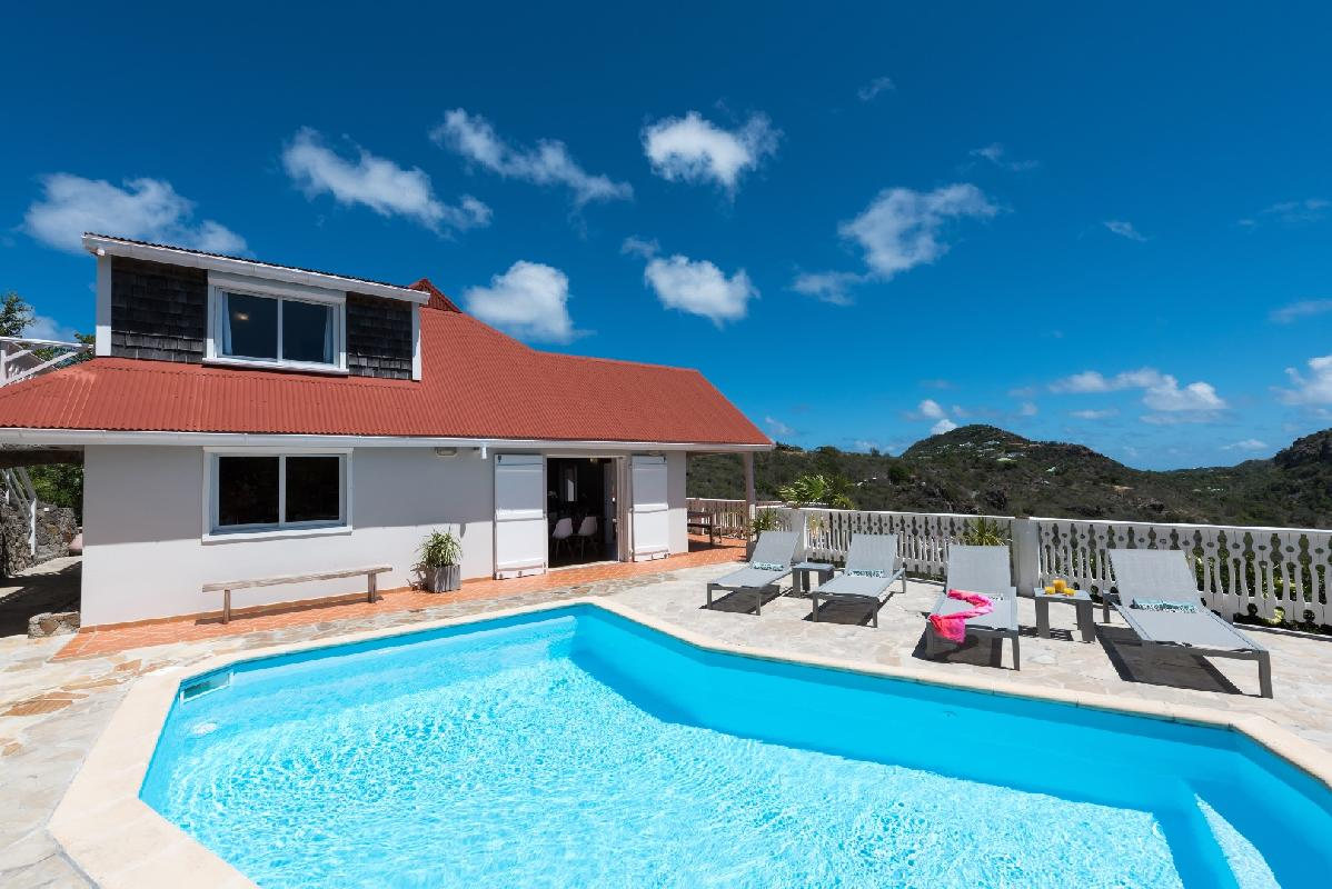 beautiful Saint Barth Villa Tourterelle luxury holiday home, vacation rental