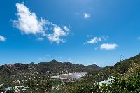 magnificent view from Saint Barth Villa Tourterelle luxury holiday home, vacation rental
