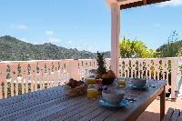 cool balcony of Saint Barth Villa Tourterelle luxury holiday home, vacation rental