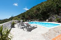 awesome swimming pool of Saint Barth Villa Tourterelle luxury holiday home, vacation rental