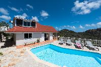 amazing swimming pool of Saint Barth Villa Tourterelle luxury holiday home, vacation rental