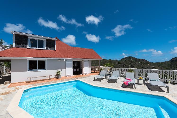 beautiful Saint Barth Villa Tourterelle luxury holiday home, vacation rental