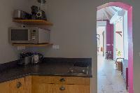 cool interiors of Saint Barth Villa Lagon Jaune Estate luxury holiday home, vacation rental