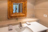 neat lavatory in Saint Barth Villa Lagon Jaune Estate luxury holiday home, vacation rental